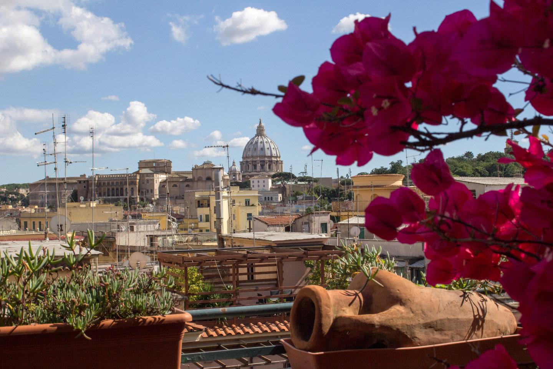 Terrasse Nähe Vatikan